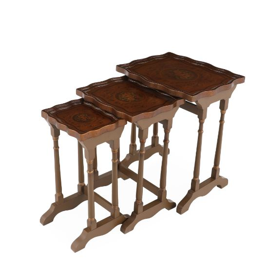 Picture of Wooden Table ( Set Of 3 ) | The Gallery
