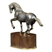 Picture of Antique Dark Bronze Horse by Jonathan Charles