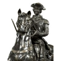 Picture of Dark Antique Bronze George Washington Statue by Jonathan Charles