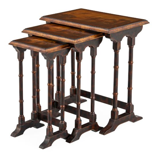 Picture of Wooden Table (Set Of  3) | The Gallery
