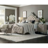 Picture of Upholstered King Panel Bed
