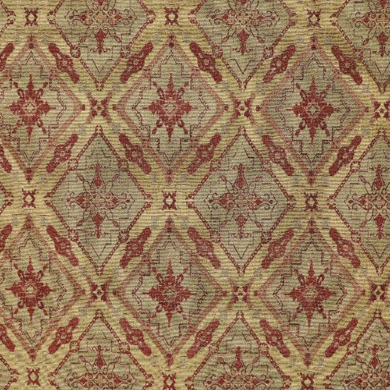 Picture of Angevin Tuscan Red Fabric
