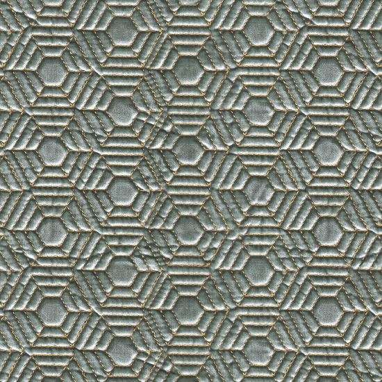Picture of Quilted Honey Comb Velvet Tiffany
