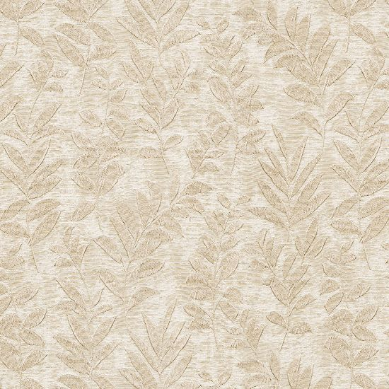 Picture of Jacquard Ambition Leaf On Wind Beige
