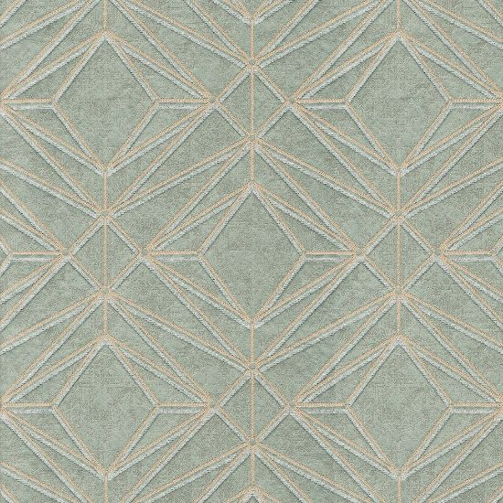 Picture of Jacquard Ambition Geometrical Green