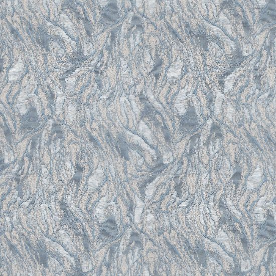Picture of Jacquard Ambition Wind In Forest Blue