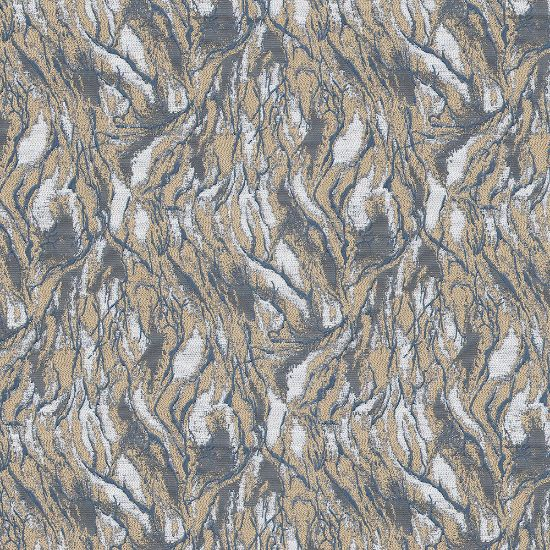 Picture of Jacquard Ambition Wind In Forest Indigo Navy